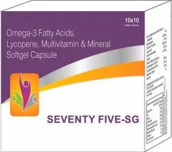 Omega-3 Fatty Acids Lycopene Multivitamin and Mineral Softgel Capsule