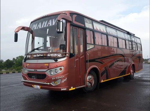 45 Seat Single Axle Volvo Coach Bus Booking Service Audi