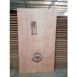 Brown Hardwood Commercial Plywood Board, Thickness: 18 mm