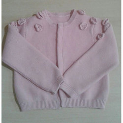 906dc6a9049579 Pink Casual Wear Kids Girl Fashionable Woolen Sweater