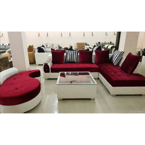 Maroon,Cream Drawing Room Sofa Set, Rs 28000 /set, Shree Siddhi ...