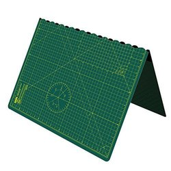 A1 Foldable Cutting Mat - Self Healing - 34 inch x 22.5 inch (A1, Green)