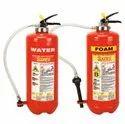Safex Foam Squeeze Grip Cartridge Type Fire Extinguishers- 09 Ltrs