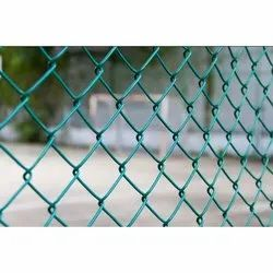 Cast Iron PVC Coated Chain Link Mesh Fence
