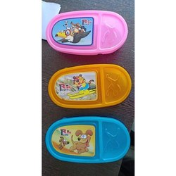 Plastic Lizza Lunch Box