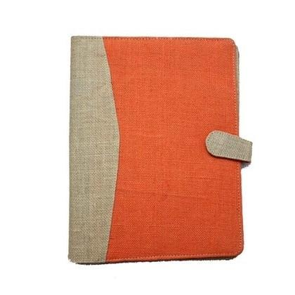ATC Natural and Orange Jute Conference Folder
