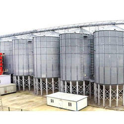 Hopper Bottom Grain Storage Silo