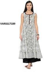 Cotton Designer Long Kurti