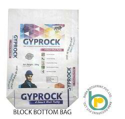 Wall Putty Block bottom Packing Bag