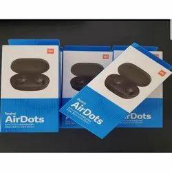 Wireless Black Redmi Mi Airdots, Weight: 35.4g