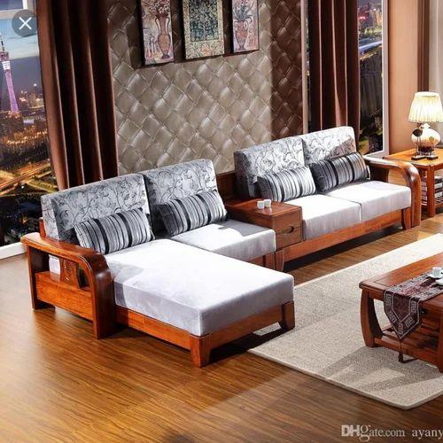 New Model Teak Wood Corner Sofa Set Desaincafeminimalis Com