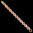 Premium Rudraksha Chain Bracelet Golden Brass Made with 100% Natual rudraksha