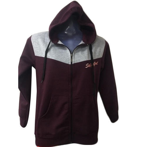 dd6a46d9b1825 Medium & XL Cotton Ladies Zipper Hoodie, Rs 200 /piece, Charlie ...