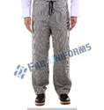 Polyester/cotton Hotel And Hospitality Chef Pant, Machine Wash