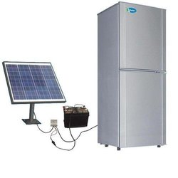 SINFIN Grey Solar Refrigerator, 12 V, 200 W