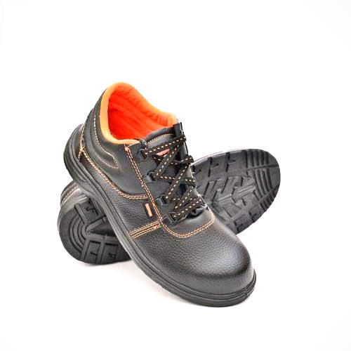 Hillson Grey Leather Safety Shoes Rs 900 Pair Shree Leathers