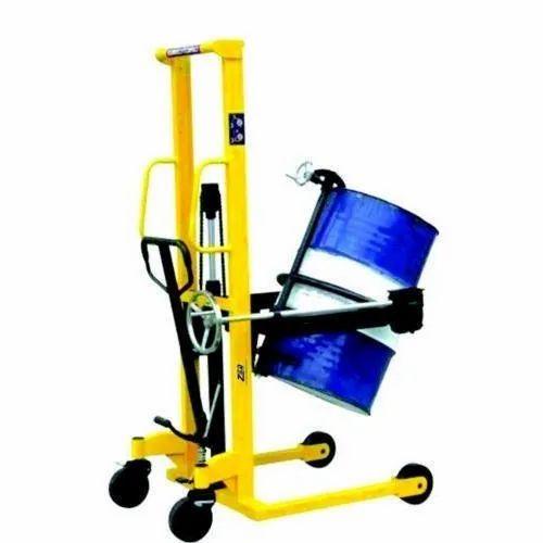 Hydraulic Drum Lifter & Tilter Trolley