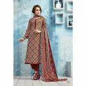 Suryajyoti Printed Churidar Suit