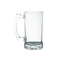 16Oz Clear Beer Mug Sublimation Printable Blank Large Hard &Thicker Well Balanced Multipurpose