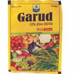 Garud Pure Zinc Agricultural Fertilizer, Pack Size: 25-50 Kg, For Agricultue