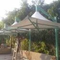 Pyramid Garden Tensile Shed