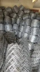 GI Hot Dip Barbed Wire, Size: 12x12