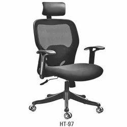 Medium Back Revolving Mesh Chair