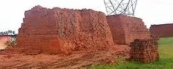 A Garde Rectangular Red Clay Brick, Size: 9 In. X 4 In. X 3 In., for Side Walls