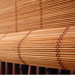 Brown Bamboo Blind