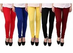Ankle Length Cotton Lycra Leggings