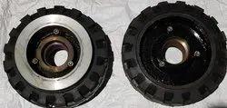 Trommel Solid Rubber Tyre