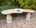 Garden Stone Bench