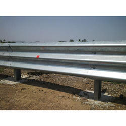 Single Side Single Beam Crash Barrier