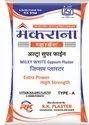 Makarna White Ultra Super Fine Gypsum Plaster, Packaging Size: 20, 25 Kg