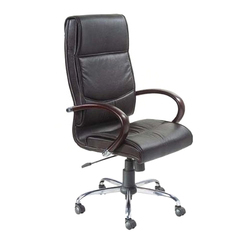 Black Rotatable CEO Chair