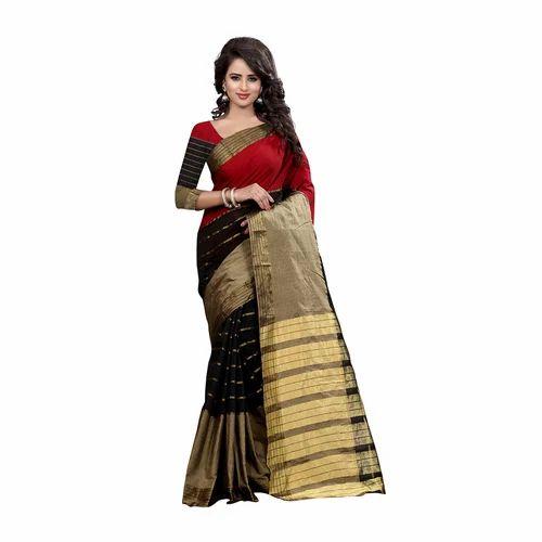 415f61755813b4 Multicolor Party Wear Pure Silk Saree