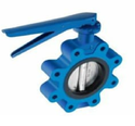 Lug Type Butterfly Valve - CS - Lever Operated