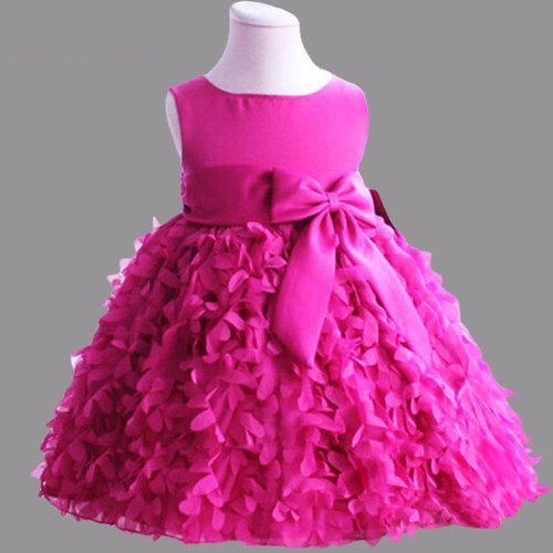 f33683f98760 Pink Party Wear Baby Girl Frock, Rs 349 /piece, New Era | ID ...