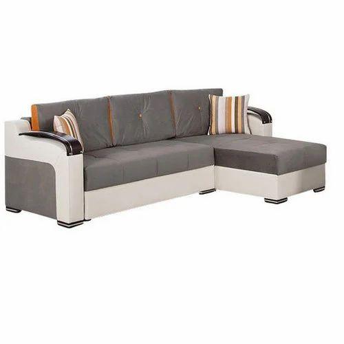 Wooden Modern L Shape Sofa Set Living, Best Sofa Set Under 25000