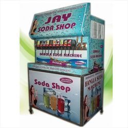 10 Plus 4 Soda Flavour Machine