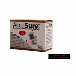 AccuSure Gold Blood Glucose Test Strip