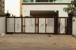 Mild steel Gate