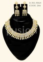 AD Fashion Necklace Set