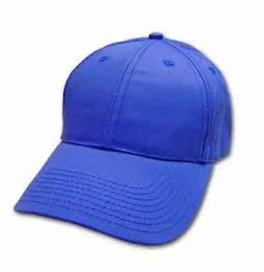 305c739051e Plain Blue Caps at Rs 299  piece