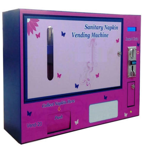 Image result for sanitary pad vending machine