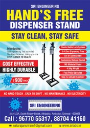 Hands Free Dispenser Stand