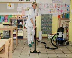 Offline School Cleaning Services, in Client Site