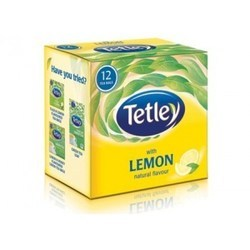 Natural Flavour Lemon Green Tea Bag