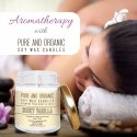Pure & Organic Soy Wax Candles - Honey Vanilla