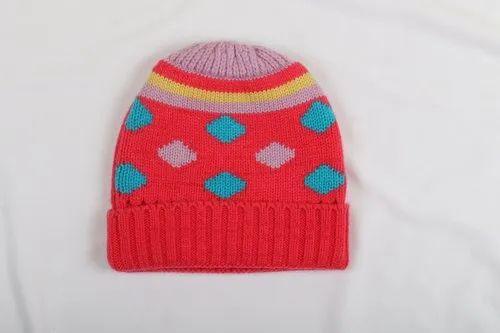 14be56dc6eb kids woolen cap at Rs 125  piece
